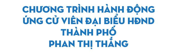 Bà Phan Thị Thắng: Lắng nghe tiếng nói thẳng nói thật từ cử tri... - Ảnh 2.