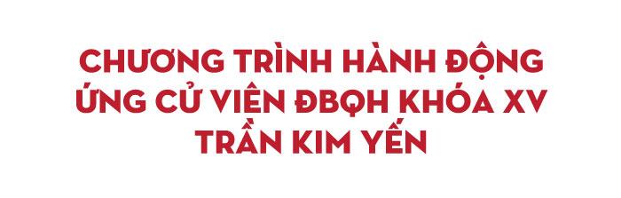 Bà Trần Kim Yến: Dành nhiều thời gian, công sức để thực hiện các nội dung cử tri quan tâm - Ảnh 2.