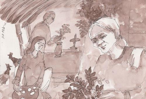 Cuộc thi viết Từ trong ký ức: Chuyến đi cuối cùng của nội - Ảnh 1.