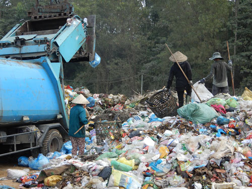 Nỗ lực xây nhà máy xử lý rác - Ảnh 2.