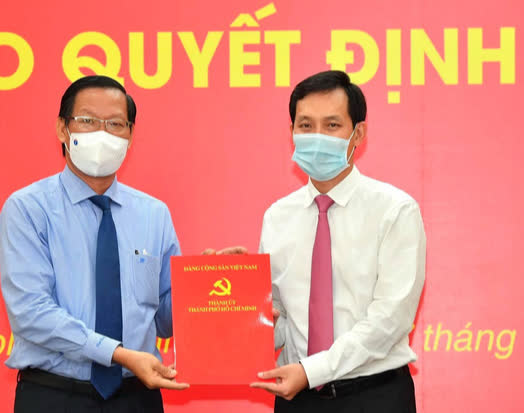 Chủ tịch UBND quận 10 làm Bí thư Đảng ủy Saigon Co.op - Ảnh 1.