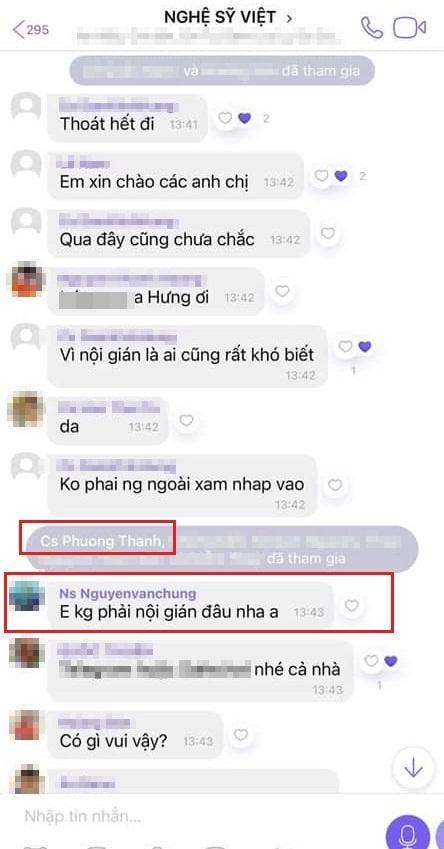 Xôn xao group chat Nghệ sĩ Việt nói xấu người khác - Ảnh 1.