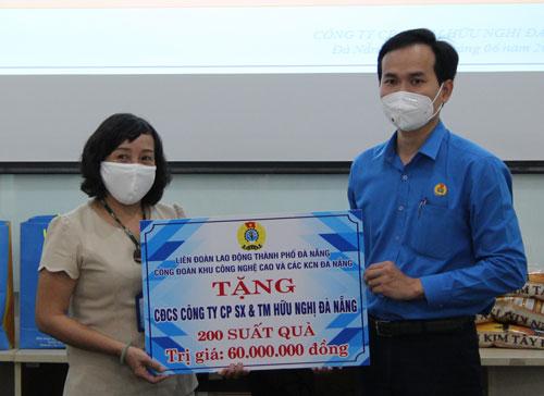 Đà Nẵng: Tặng quà công nhân KCN An Đồn, Thọ Quang - Ảnh 1.
