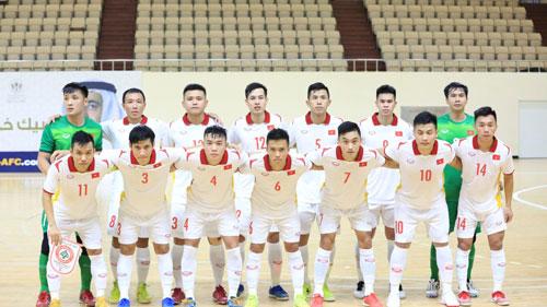 Việt Nam gặp khó tại VCK FIFA Futsal World Cup - Ảnh 1.