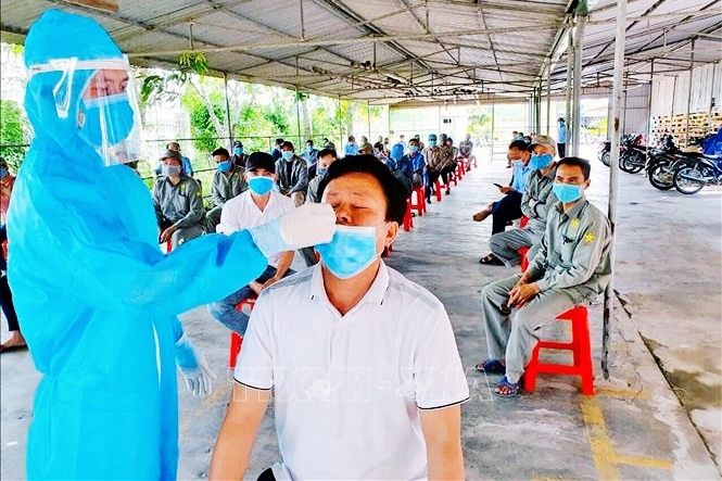 On the evening of June 21, there were 135 more cases of Covid-19, 70 cases in Ho Chi Minh City - Photo 2.