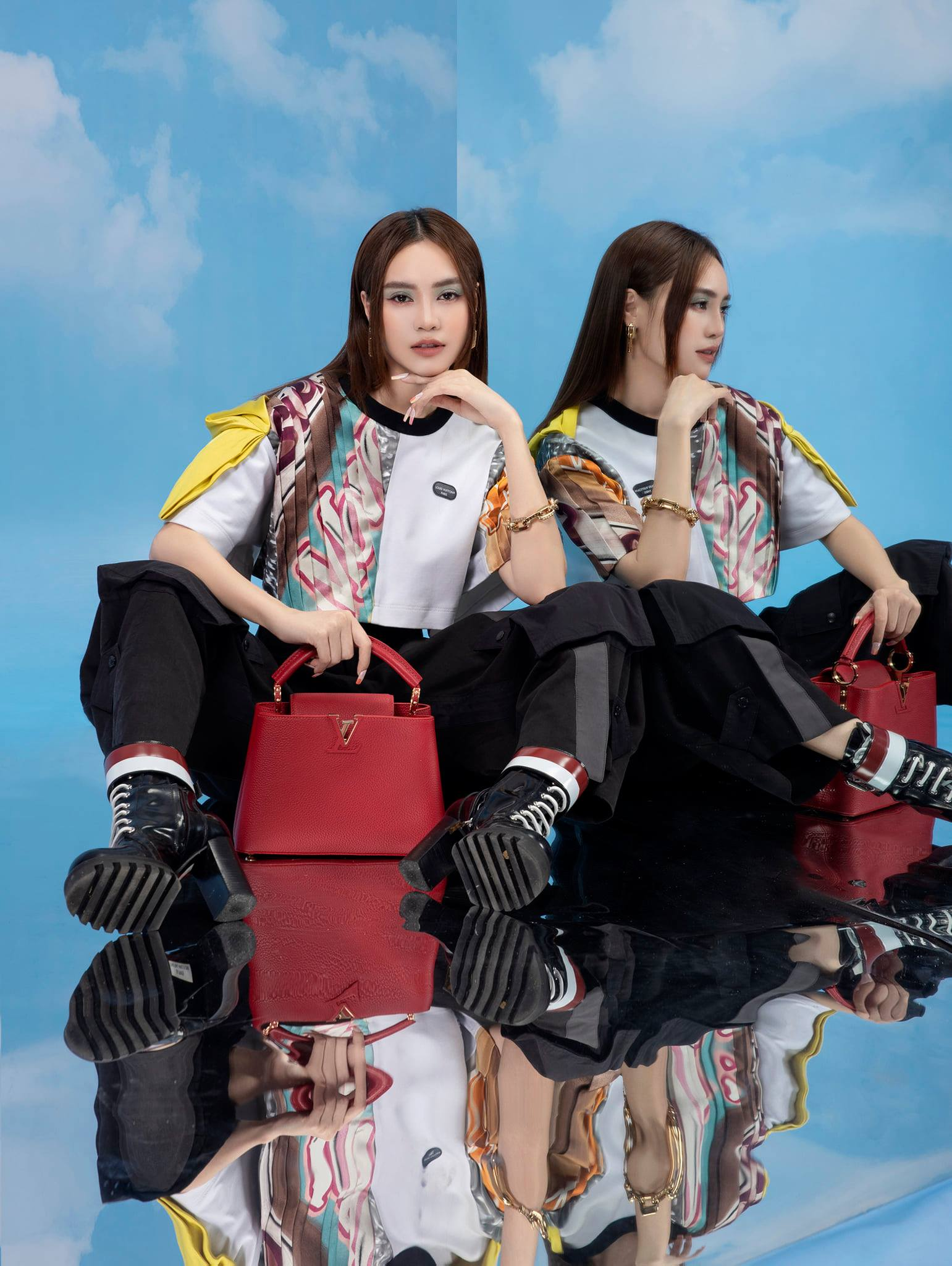 Diễm My 9X, Ngô Thanh Vân, Việt Trinh… tung loạt ảnh thời trang sang trọng - Ảnh 15.