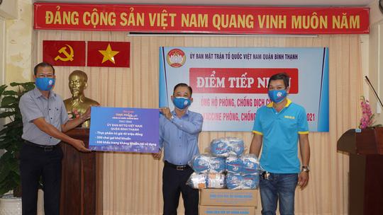 """Chương trình """"Thực phẩm miễn phí cùng cả nước chống dịch"""" tiếp tục đồng hành cùng chính quyền, nhân dân TP HCM - Ảnh 1."""