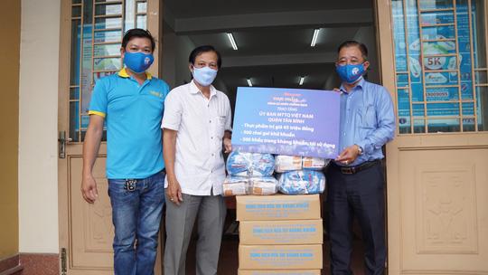 """Chương trình """"Thực phẩm miễn phí cùng cả nước chống dịch"""" tiếp tục đồng hành cùng chính quyền, nhân dân TP HCM - Ảnh 3."""