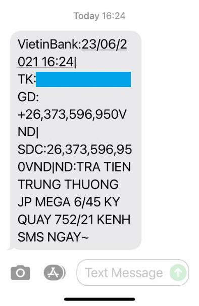 Mua vé số qua Vietlott SMS, thuê bao MobiFone nhận giải Jackpot gần 30 tỉ đồng - Ảnh 2.