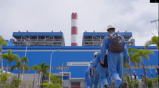 Nhiệt điện Vĩnh Tân vừa bảo đảm sản xuất vừa hỗ trợ phòng, chống dịch Covid-19 - Ảnh 1.