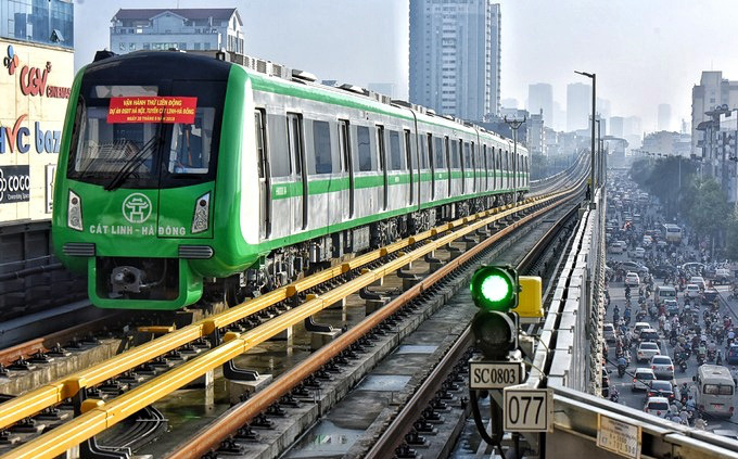 Hành khách tuyến đường sắt Cát Linh-Hà Đông được miễn tiền vé trong 15 ngày  đầu tiên - Báo Người lao động