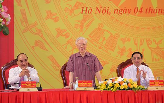 Tổng Bí thư, Chủ tịch nước và Thủ tướng tham gia Đảng ủy Công an Trung ương - Ảnh 2.