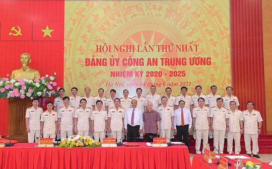 Tổng Bí thư, Chủ tịch nước và Thủ tướng tham gia Đảng ủy Công an Trung ương - Ảnh 3.