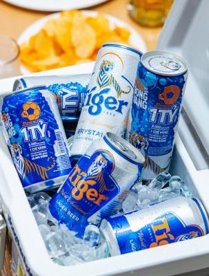Tiger beer mang đến cơ hội trúng thưởng 7 quả bóng vàng cho người hâm mộ bóng đá Việt Nam - Ảnh 2.