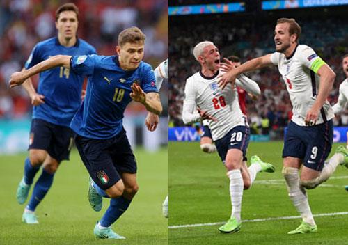 Anh - Ý (2 giờ ngày 12-7, sân Wembley): Thư hùng trên đỉnh châu Âu - Ảnh 1.
