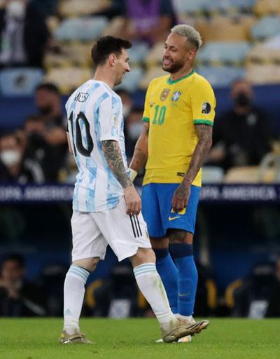 Messi - Neymar cứu hình ảnh Copa America - Ảnh 1.
