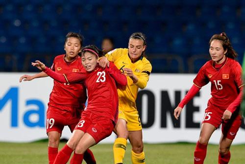 Bóng đá nữ Việt Nam quyết giành suất dự VCK World Cup - Ảnh 1.
