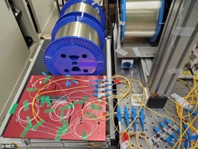 Ngỡ ngàng kỷ lục truyền dữ liệu bằng tia laser của Nhật Bản - Ảnh 1.