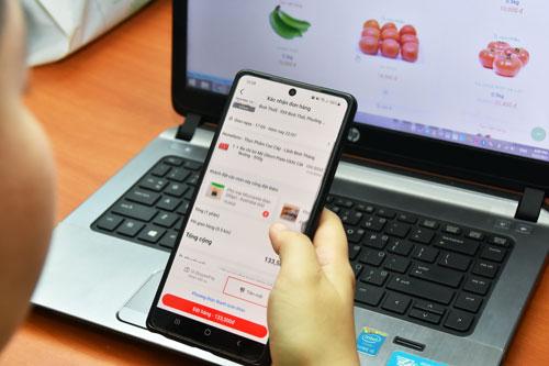 Thanh toán online tăng thấy rõ - Ảnh 1.