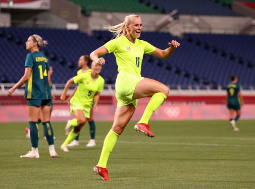 Olympic Tokyo: Mãn nhãn cơn mưa bàn thắng bóng đá nữ - Ảnh 1.