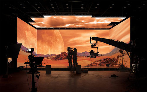 Phim trường ảo đầu tiên trên thế giới - Ảnh 1.