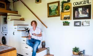 Người phụ nữ tự xây nhà vì chán cảnh nợ nần - Ảnh 8.