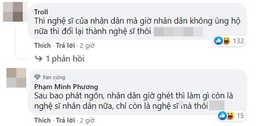 Fanpage gỡ danh hiệu NSND, Hồng Vân bị tước danh hiệu sau hàng loạt điều tiếng? - Ảnh 4.