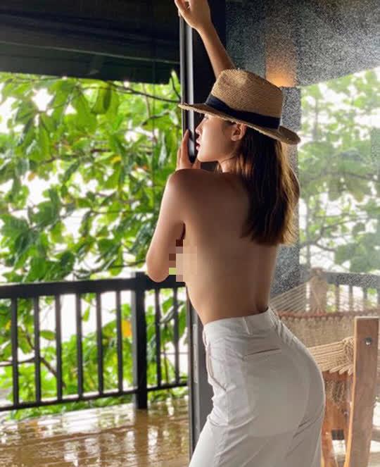 Hoa hậu Kỳ Duyên lại bị chê vì ăn mặc phóng khoáng - Ảnh 9.