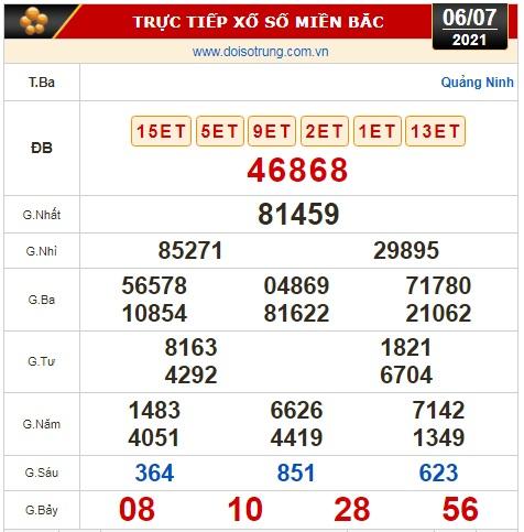 Kết quả xổ số ngày 6-7: Bến Tre, Vũng Tàu, Bạc Liêu, Đắk Lắk, Quảng Nam, Quảng Ninh - Ảnh 3.