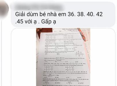 Bộ GD-ĐT: Thí sinh làm lọt đề thi ở Quảng Bình - Ảnh 1.