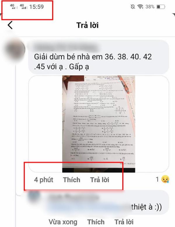 Thi tốt nghiệp THPT: Bộ GD-ĐT lên tiếng về thông tin lộ đề thi môn toán - Ảnh 1.