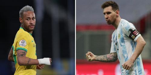 Chung kết Copa America 2021: Hấp dẫn Messi đấu Neymar - Ảnh 1.