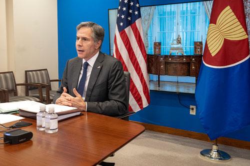 Mỹ củng cố quan hệ với ASEAN - Ảnh 1.