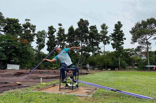 Tiếp sức đoàn thể thao dự Paralympic Tokyo 2020 - Ảnh 1.