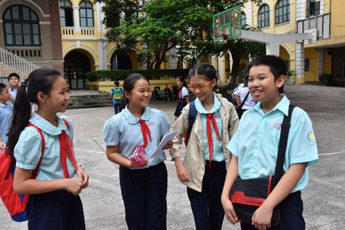 Bổ sung dữ liệu xét tuyển vào lớp 6 Trường chuyên Trần Đại Nghĩa - Ảnh 1.