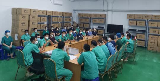 TP HCM: Bên trong bệnh viện dã chiến số 14 chuyên cấp cứu bệnh nhân Covid-19  - Ảnh 1.