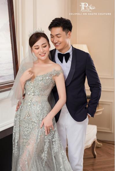Trọn bộ ảnh cưới ngọt ngào của Long - Nam Hương vị tình thân - Ảnh 7.