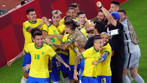 Brazil tranh HCV bóng đá nam với Tây Ban Nha - Ảnh 1.