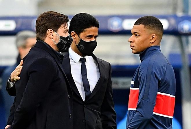 Real Madrid rút lui, Mbappe ở lại PSG sát cánh cùng Messi - Ảnh 2.