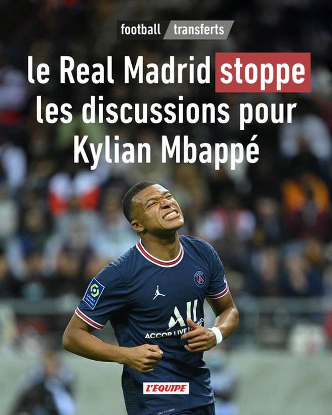 Real Madrid rút lui, Mbappe ở lại PSG sát cánh cùng Messi - Ảnh 1.
