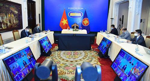Hỗ trợ ASEAN ứng phó đại dịch - Ảnh 1.