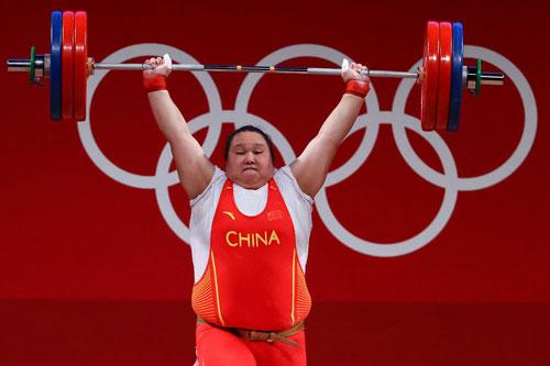 Trung Quốc thống trị sàn đấu Olympic - Ảnh 1.