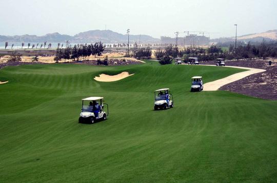 Sân golf nơi Giám đốc Sở Du lịch Bình Định Nguyễn Văn Dũng, Cục phó Cục thuế tỉnh Bình Định Nguyễn Công Thành và 2 đại gia chơi golf