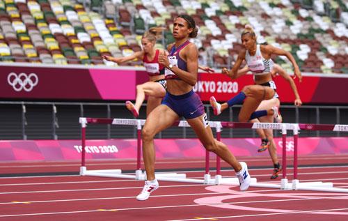 Bùng nổ kỷ lục từ đường chạy Olympic - Ảnh 1.