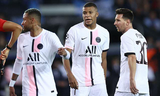 Messi và tam tấu PSG nhạt nhòa, Club Brugge chia điểm đại gia - Ảnh 1.