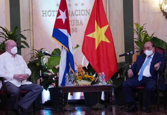 Chủ tịch nước: Hoàn thành xuất sắc, toàn diện mục tiêu chuyến đi Cuba - Ảnh 1.