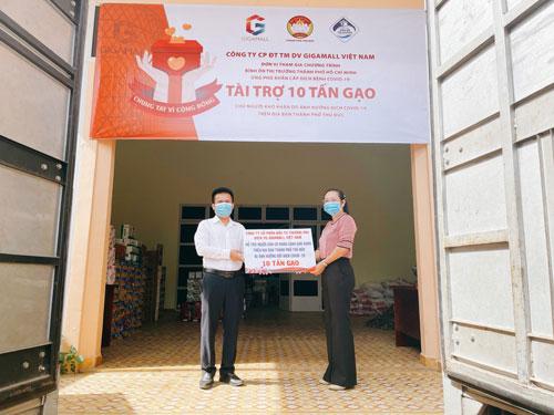 Gigamall Việt Nam chung tay phòng chống dịch - Ảnh 1.