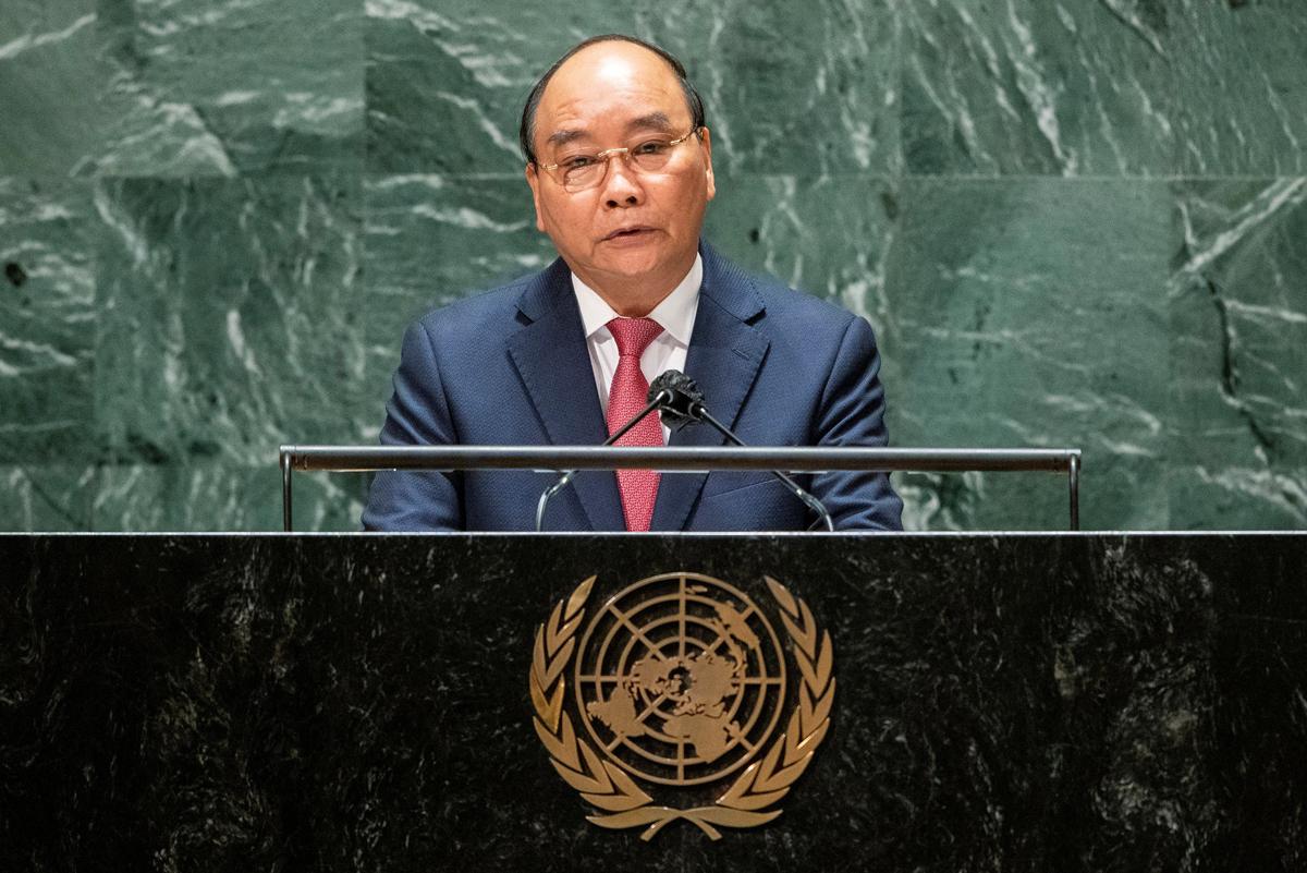 [eMagazine] Dấu ấn đậm nét của Chủ tịch nước tại Liên Hiệp Quốc - Ảnh 2.