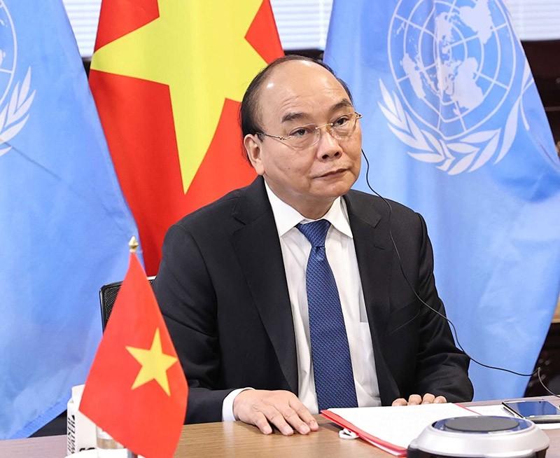 [eMagazine] Dấu ấn đậm nét của Chủ tịch nước tại Liên Hiệp Quốc - Ảnh 5.