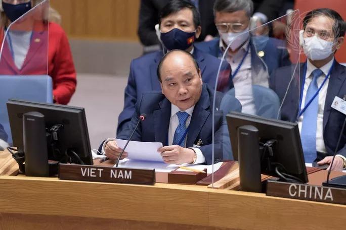 [eMagazine] Dấu ấn đậm nét của Chủ tịch nước tại Liên Hiệp Quốc - Ảnh 8.